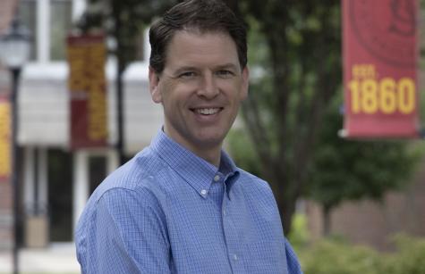 Matt Hansen is the new director of Dean of Students / Director of Residence Life.
