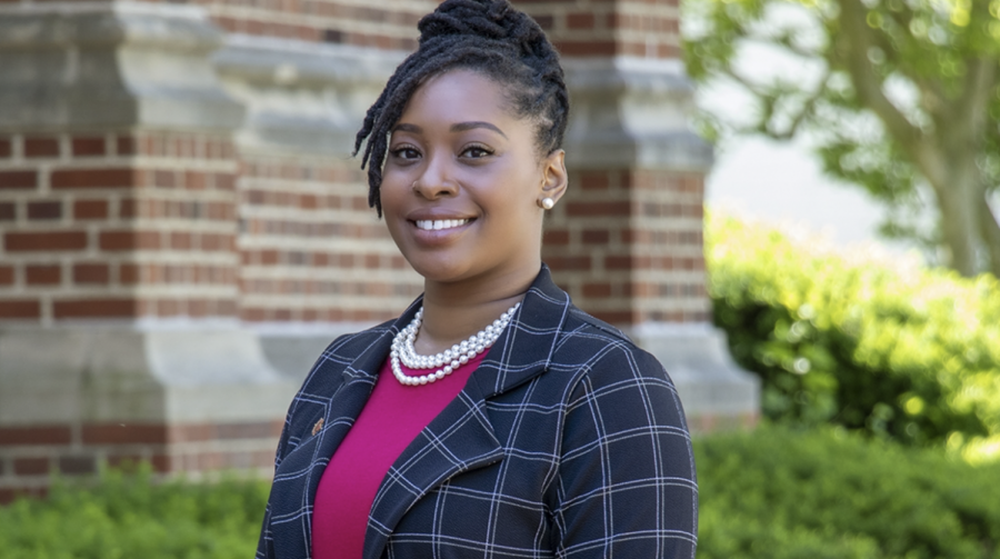 Keyah Levy is Simpson Colleges first VP of DEI.