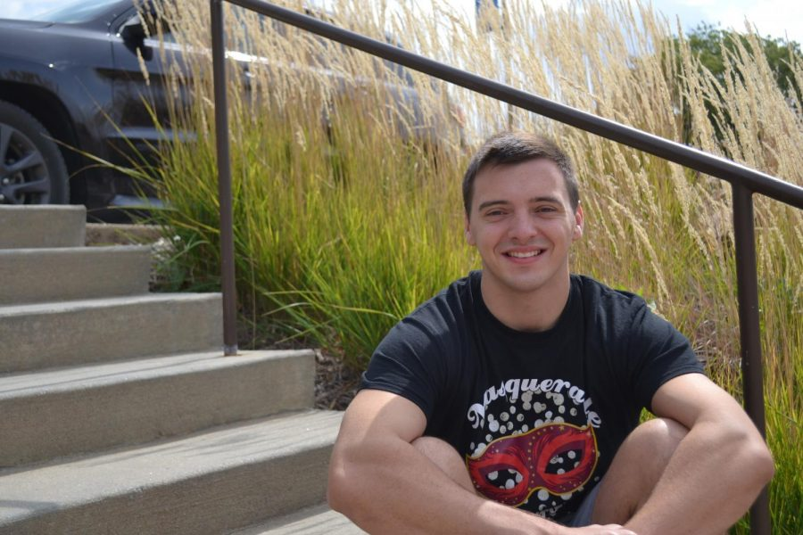 Senior Cameron Whitehead reflects on his time at Simpson College.