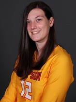 Three-time letterwinner Megan LeMay is a senior at Simpson College majoring in biochemistry and criminal justice.