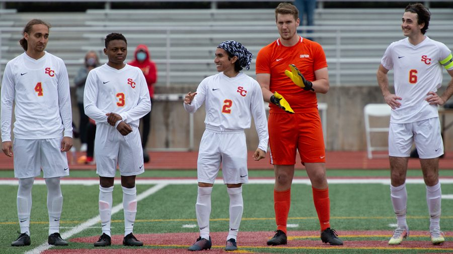 Junior Jordy Triana-Vasquez has scored five goals in the first two games of the season.