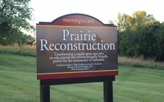 The prairie lot has been used by the Environment Science and Biology departments as an outdoor ecology lab since 2017.