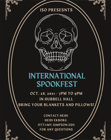 ISO to hold 'international spook fest'