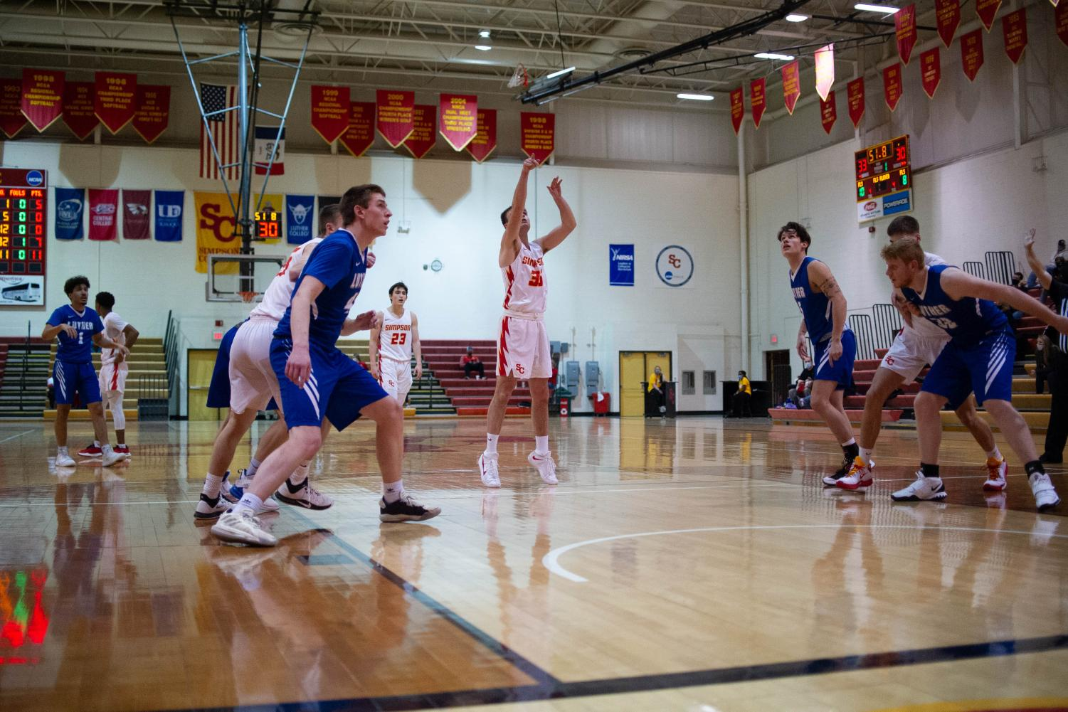The men's basketball team hopes to improve on its 3-7 record from last season.