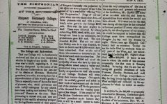 The first edition of The Simpsonian was published Oct. 1, 1870.