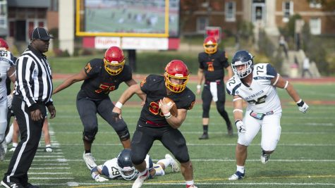 The Storm football team played against Buena Vista University on Oct. 23. Unfortunately, the team lost 50-19.