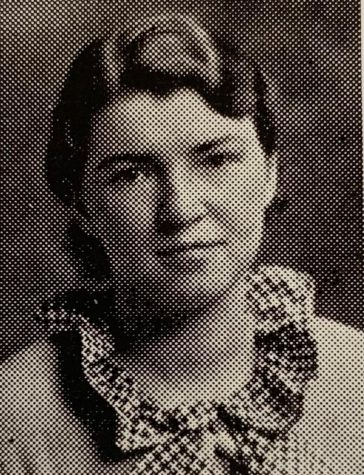 Mildreds yearbook photo from 1935.