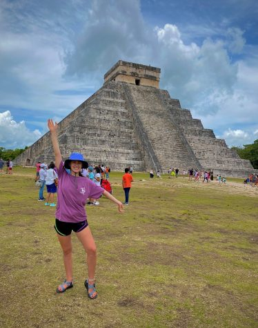 Simpson seniors Madeline Gude and Korie Torres both spent a month studying in Mexico this summer.
